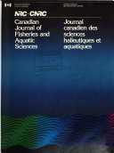 Canadian Journal of Fisheries and Aquatic Sciences
