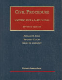 Materials for a Basic Course in Civil Procedure