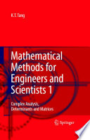 Mathematical Methods for Engineers and Scientists 1