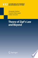 Theory of Zipf s Law and Beyond