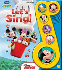 Let s Sing Mickey Mouse Little Music Note Book