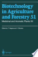 Medicinal and Aromatic Plants XII Deals With The Distribution Importance