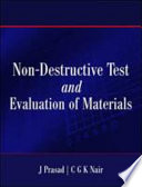 Non Destructive Test And Evaluation Of Materials