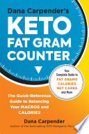 Dana Carpender S Keto Fat Gram Counter