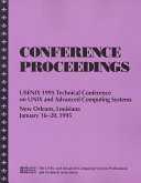 Proceedings of the     USENIX Technical Conference