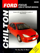 Chilton S Ford Focus 2000 07 Repair Manual