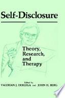 Self Disclosure