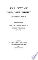 The City of Dreadful Night and Other Poems Book PDF
