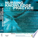 Nursing Knowledge And Practice E-Book : an ideal basis for foundation nursing...