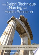 The Delphi Technique in Nursing and Health Research