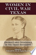 Women in Civil War Texas Book PDF