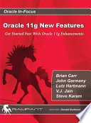 Oracle 11g New Features