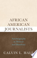 Ebook African American Journalists Epub Calvin L. Hall Apps Read Mobile