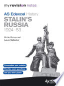 My Revision Notes Edexcel AS History  Stalin s Russia  1924 53
