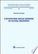 L'economia delle aziende di social shopping