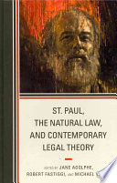 St  Paul  the Natural Law  and Contemporary Legal Theory