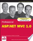 Professional ASP NET MVC 1 0
