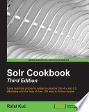Solr Cookbook   Third Edition