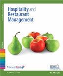 Hospitality And Restaurant Management