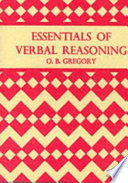 Essentials of Verbal Reasoning