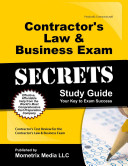 Contractor s Law and Business Exam Secrets Study Guide