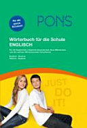 PONS Wörterbuch für die Schule Englisch-Deutsch, Deutsch-Englisch
