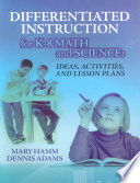 Differentiated Instruction For K 8 Math And Science