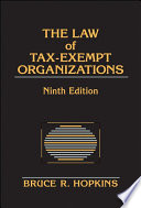 The Law of Tax Exempt Organizations