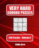 Very Hard Sudoku Puzzles Volume 2