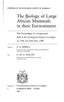 The Biology of Large African Mammals in Their Environment