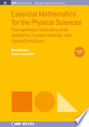 Essential Mathematics for the Physical Sciences  Volume 1