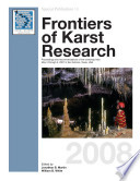 Frontiers Of Karst Research book