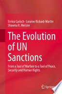 The Evolution of UN Sanctions