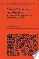 Chaos  Dynamics  and Fractals