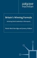 Britain's Winning Formula Book