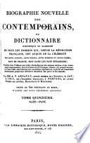 Biographie nouvelle des contemporains