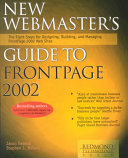New Webmaster s Guide to FrontPage 2002