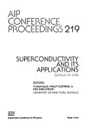 Superconductivity and Its Applications