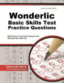 Wonderlic Basic Skills Test Practice Questions