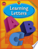 Learning Letters  Grade Preschool