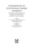 Fundamentals of Functionally Graded Materials