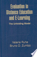 Evaluation In Distance Education And E Learning book