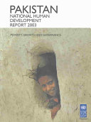 Pakistan National Human Development Report 2003