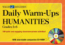 Daily Warm Ups for Humanities  Grade 5 6