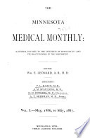 The Minnesota Medical Monthly