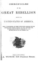 download ebook chronicles of the great rebellion against the united states of america pdf epub