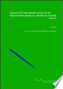 Essays On The Rome Statute Of The International Criminal Court book