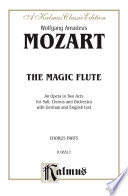 The Magic Flute  Die Zauberfl  te   An Opera in Two Acts