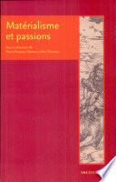 illustration Matérialisme et passions