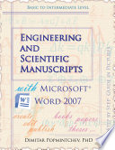 Engineering and Scientific Manuscripts with Microsoft Word 2007